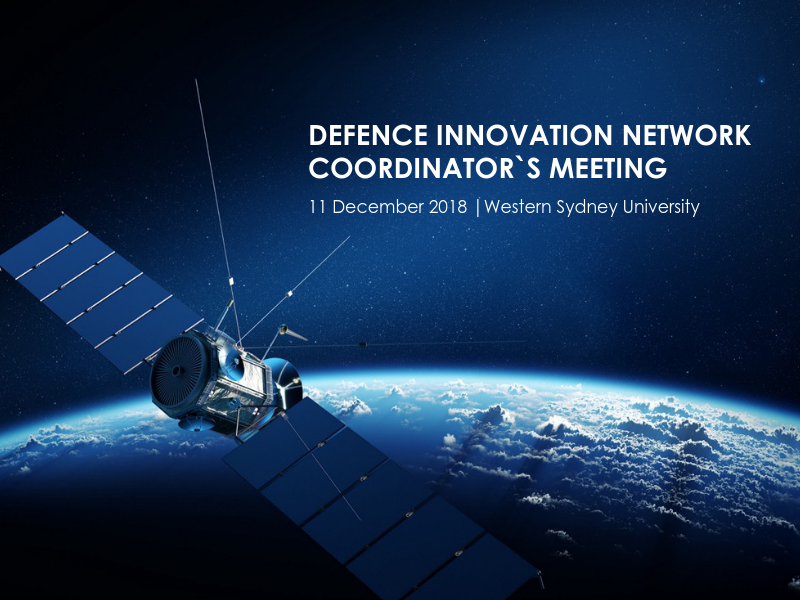 DIN Coordinator's Meeting Focused on Space