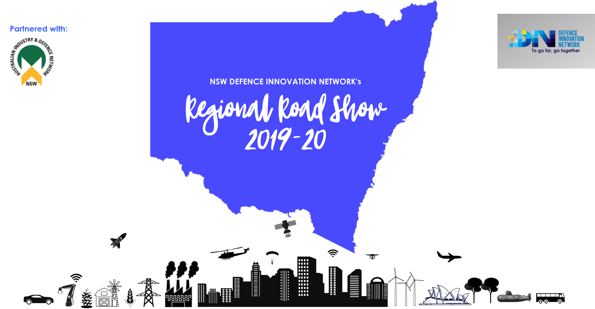 Inaugural NSW Defence Innovation Network's Regional Road Show 2019-20